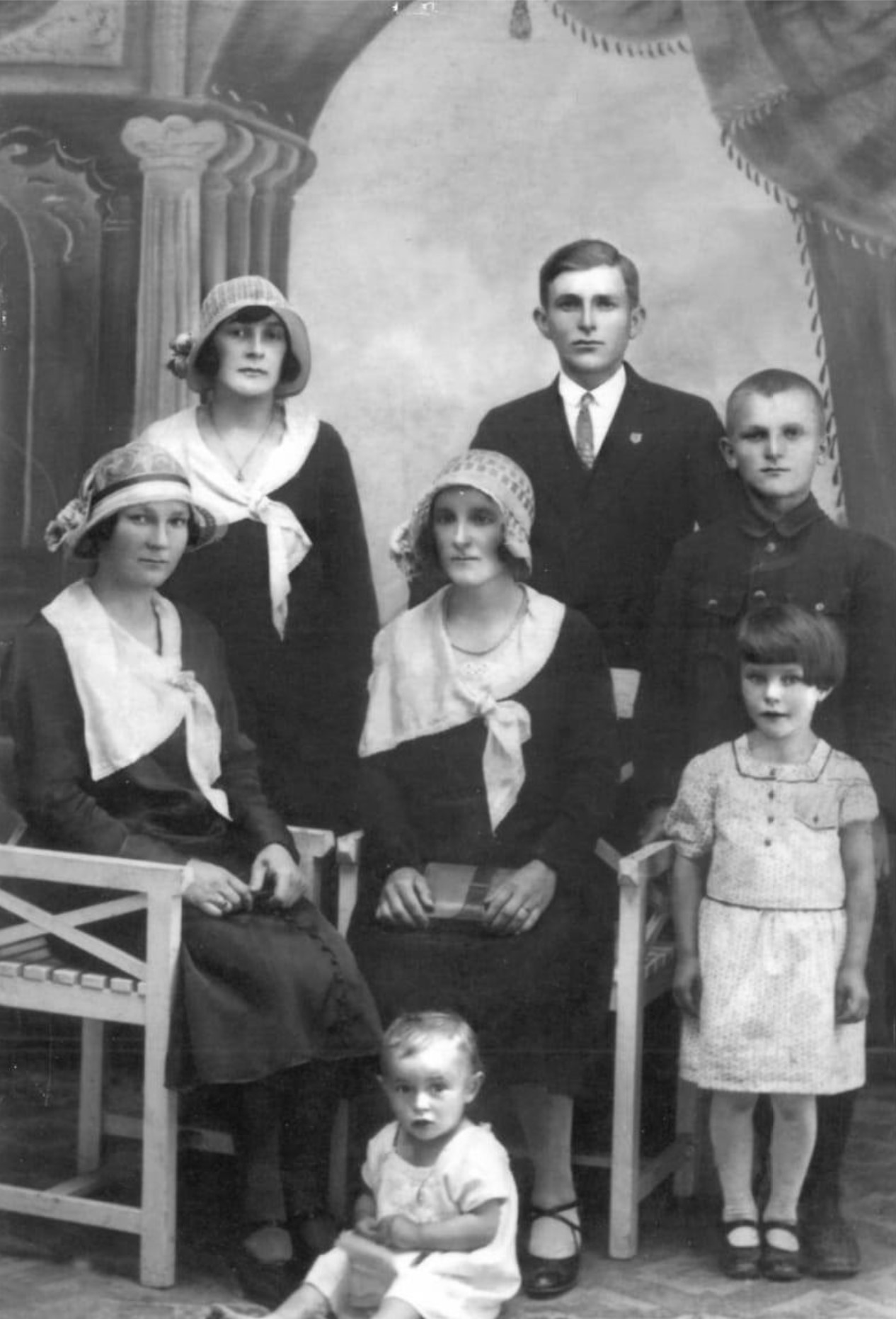 Stanisław z rodzeństwem