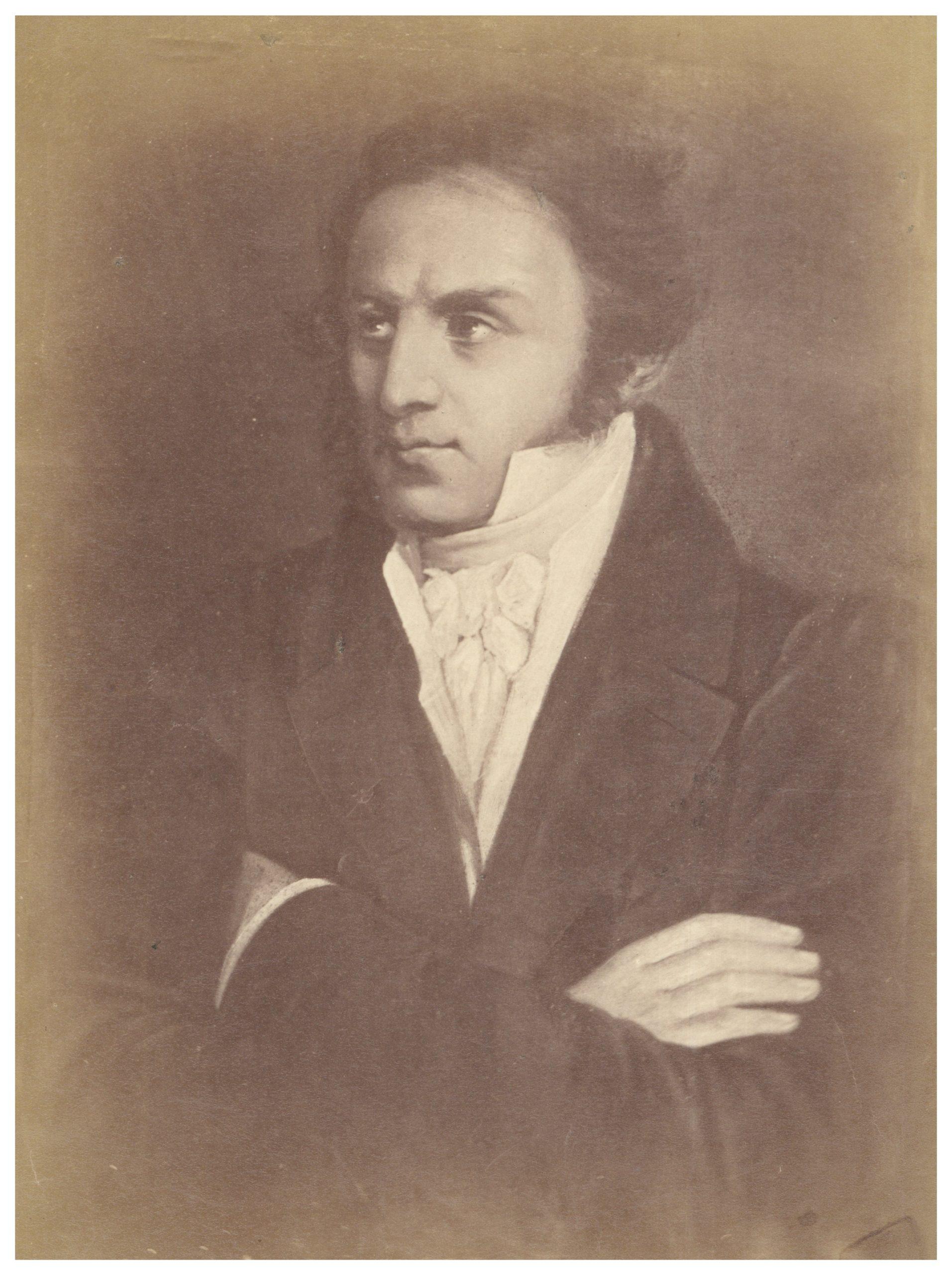 Portret Kazimierza Brodzińskiego autorstwa Aleksandra Józefa Sleńdzińskiego